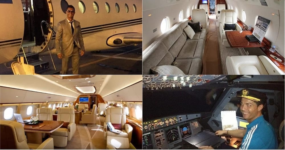 Cristiano Ronaldo private jet: does he really have it ...