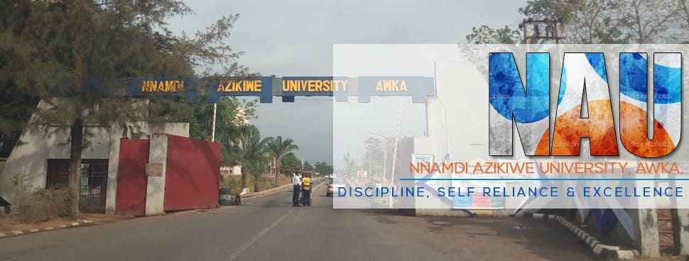 Full list of courses offered by Nnamdi Azikiwe University for 2018-2019 Legit.ng