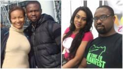 Stella Damasus' husband, Daniel Ademinokan was abused mentally by ex-wife Doris Simeon? (photo)