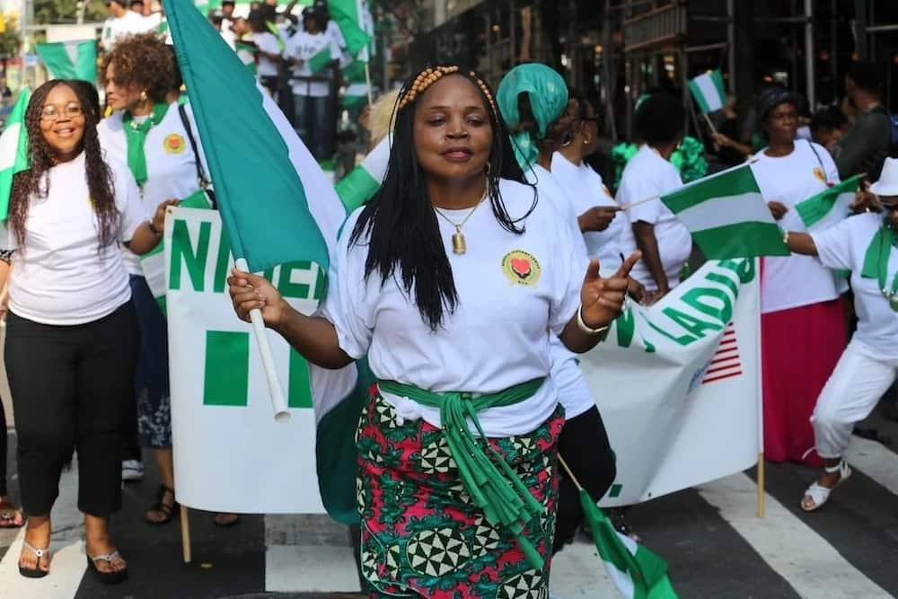 Happy Independence Day Nigeria parade