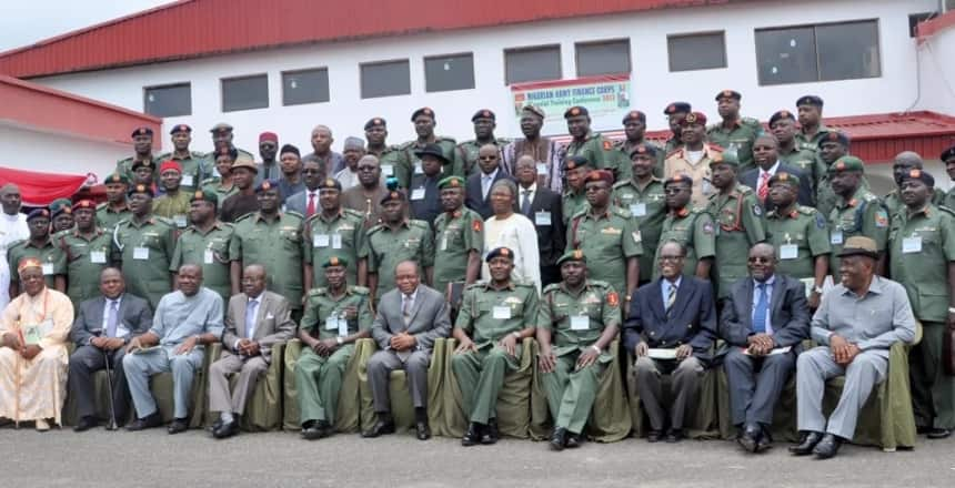 Nigerian Army ranks