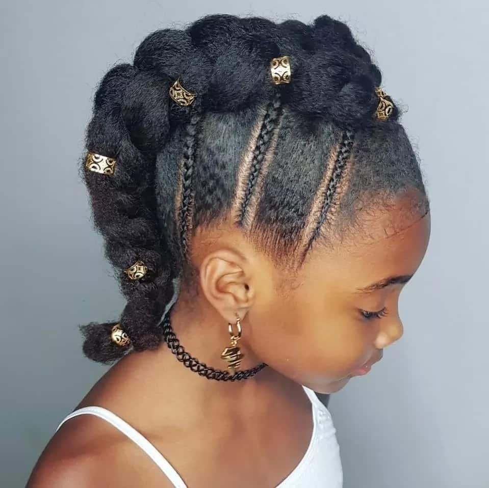 Groovy Top 20 Best Hairstyles For Black Girls In 2019 Legit Ng Schematic Wiring Diagrams Amerangerunnerswayorg
