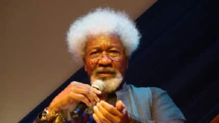 Keep the promise to AIDS - Wole Soyinka charges FG to take responsibility of growing epidemic