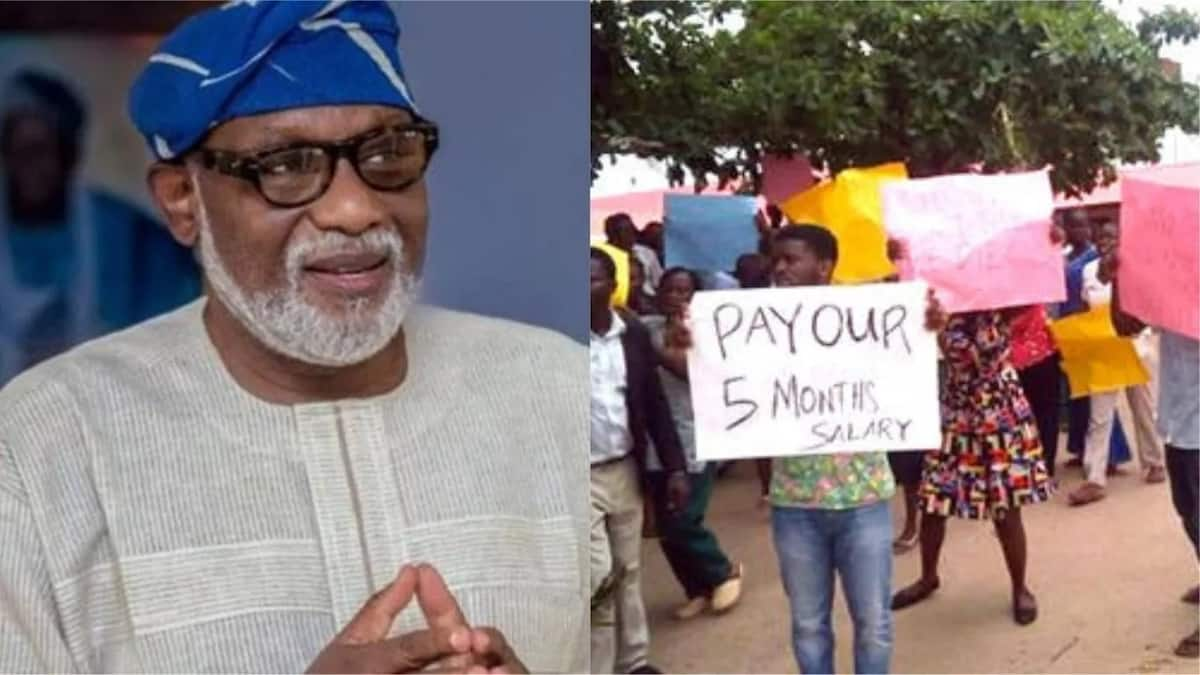 Governor Akeredolu begs Ondo workers to sacrifice outstanding salaries and arrears