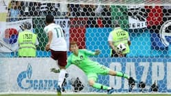 Mexico defeat South Korea to qualify for the knock stages at the 2018 FIFA World Cup in Russia