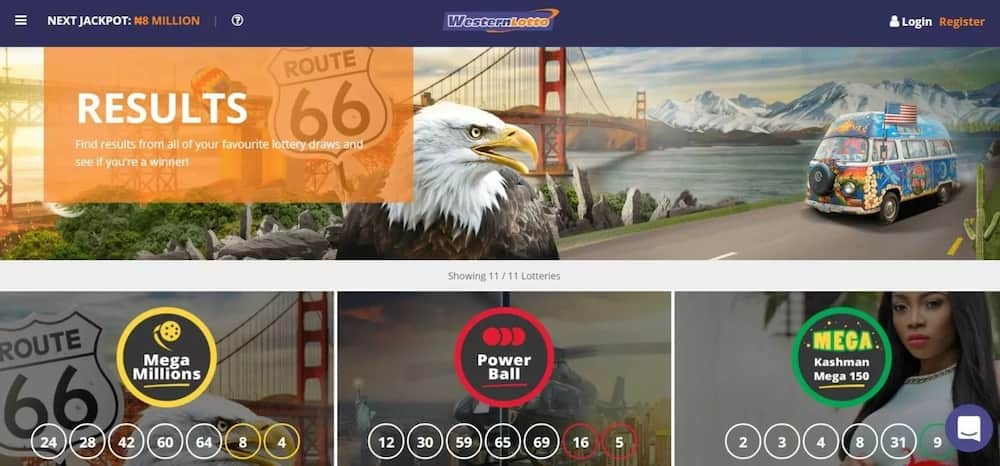 How to play Western lotto Nigeria online and check results