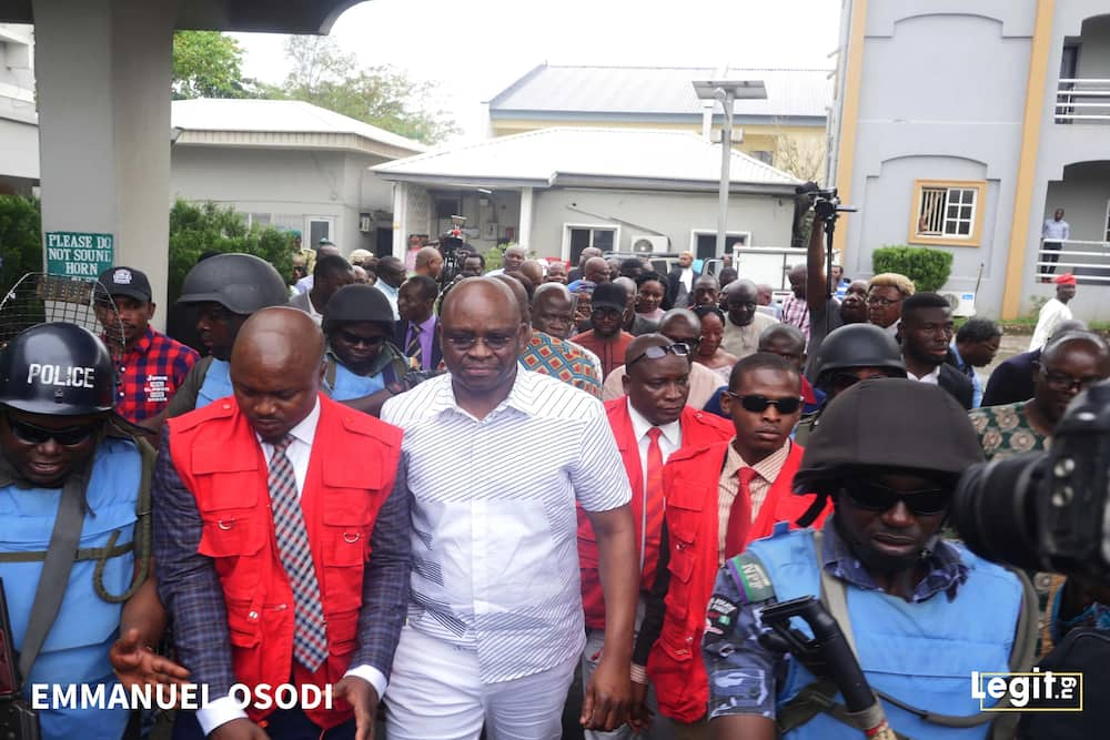 Place Magu on watch-list just as he did to me - Fayose tells FG