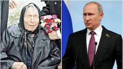 Blind seer who predicted the 9/11 terror attacks had a vision Vladimir Putin would become 'lord of the world' 40 years ago