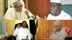 You want to be taken seriously? Ensure a presiding officer of National Assembly is handcuffed and jailed – Jibrin tells Buhari