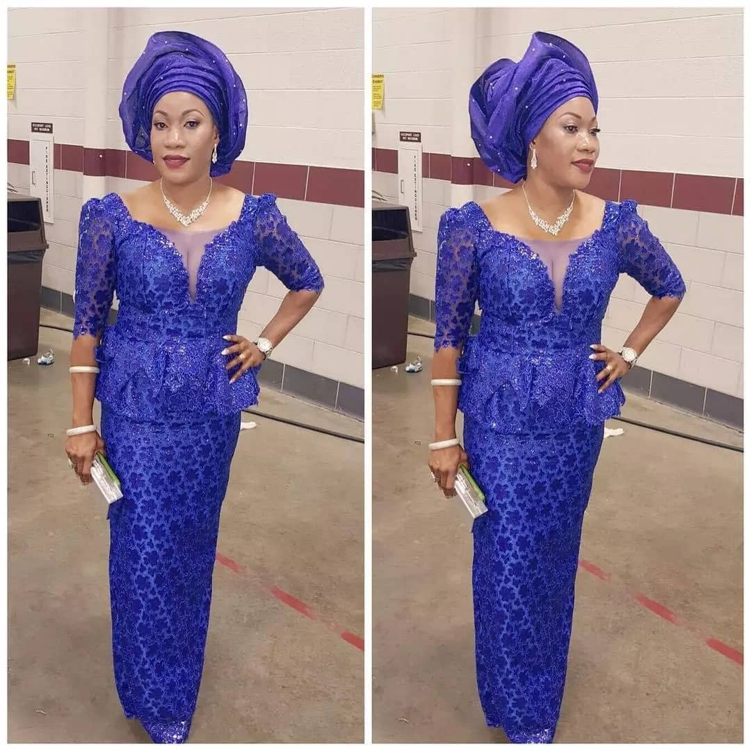 Aso Ebi lace styles for ladies