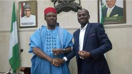 Igala man emerges second youngest commissioner in Anambra (photos)
