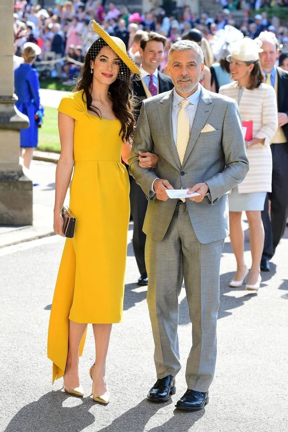 George Clooney and 40-year-old lawyer Amal Clooney