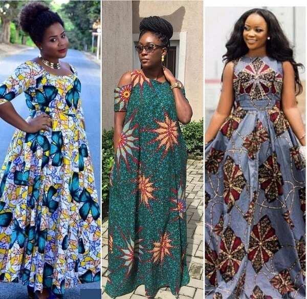d403393fa6f2 Ankara maxi dresses in 2018 ▷ Legit.ng