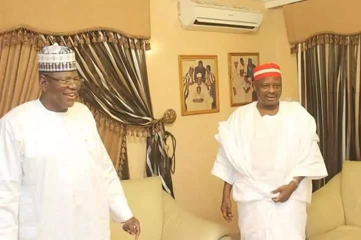 Kwankwaso visits Sule Lamido in Abuja minutes after leaving APC