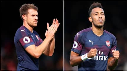 Aubameyang, Ramsey win best EPL Player and Goal in the month of October