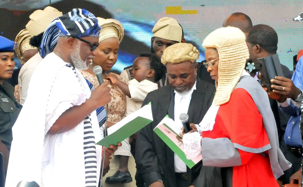 New Ondo governor Akeredolu accuses senator of disloyalty