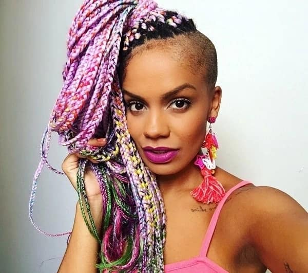 Colored braids