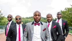 8 pink-wearing groomsmen squad that would totally swagger their way to your heart