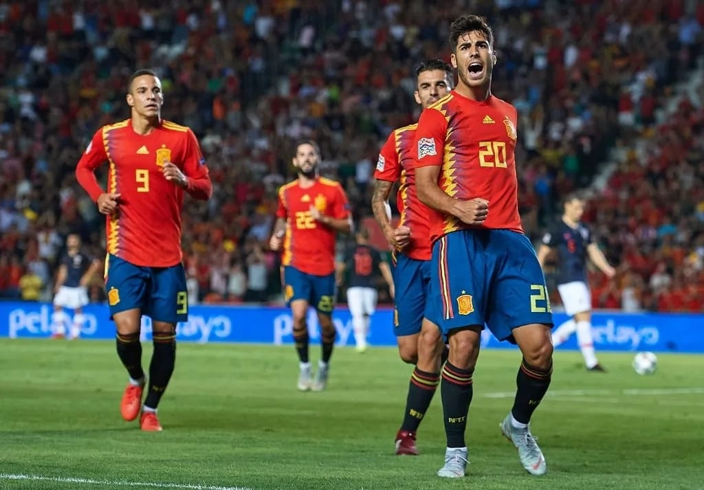 Asensio nets a brace and collects three assists as Spain crush Croatia