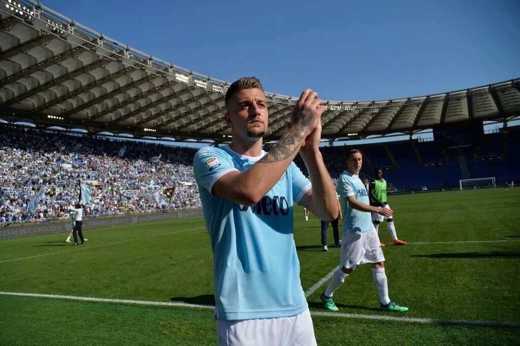 AC Milan plot £98m plus Borini for Lazio's Manchester United target Milinkovic-Savic