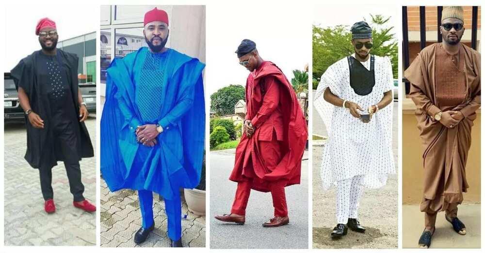 Nigerian Agbada styles for men 2017