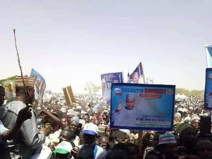 Katsina agog as APC receives decampees, PDP big shots (photos)