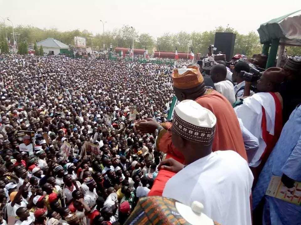 Hotuna daga gangamin taron jam'iyyar PDP a jihar Katsina