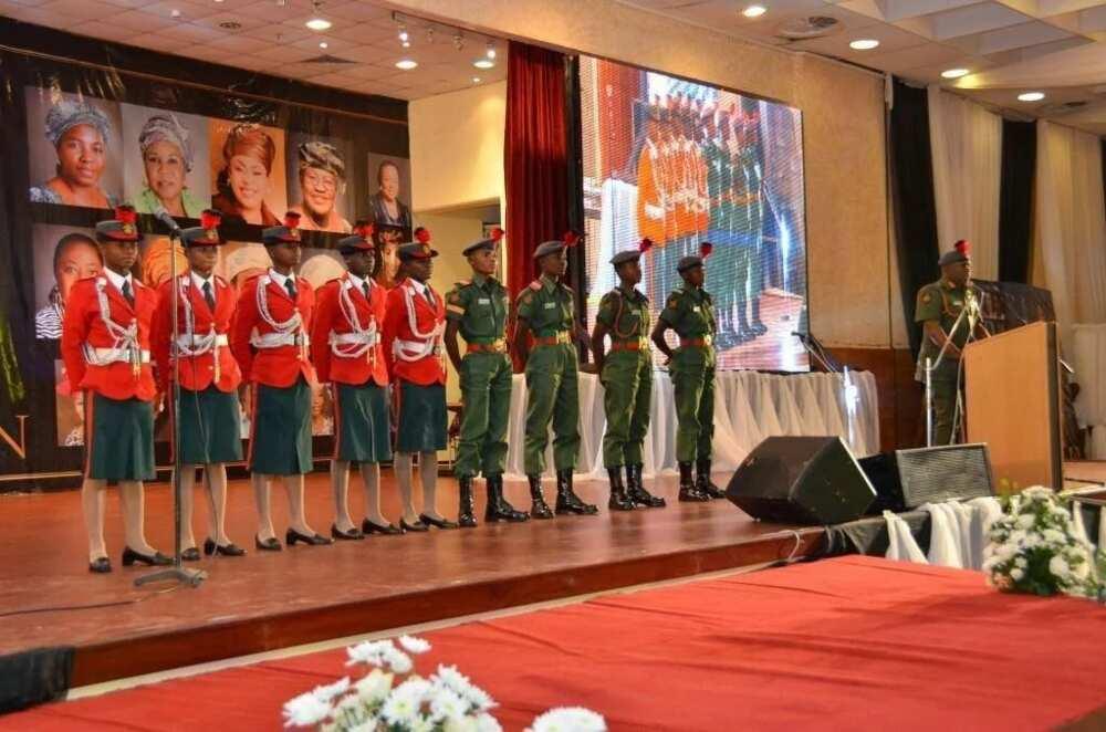 Nigerian defence academy cadets
