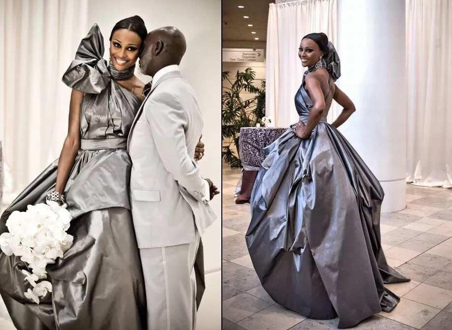 Unusual gray for wedding
