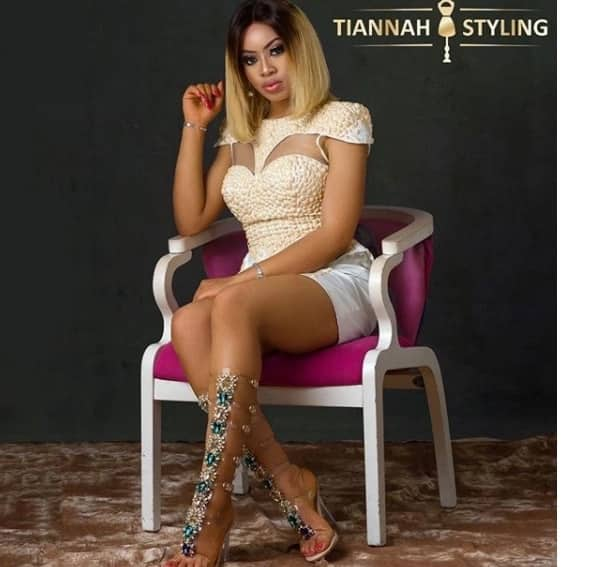 BBNaija Nina looking stunning as she's styled by Toyin Lawani in new photoshoot