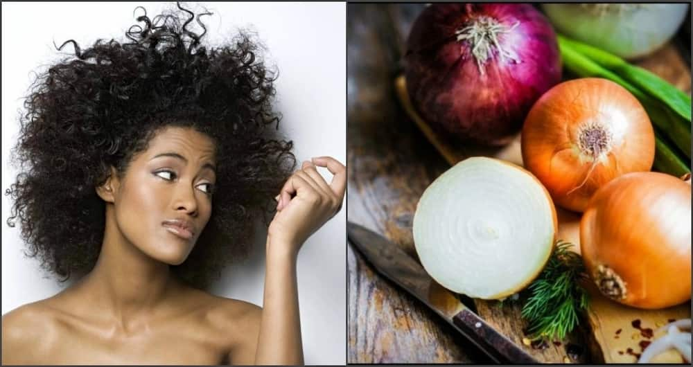 Image result for onion for hair