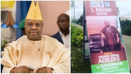 Davido supports his uncle Senator Adeleke in a special way as he joins Osun gubernatorial race (photo)