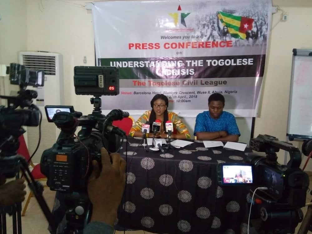Togolese Civil League calls for intervention in country's crisis