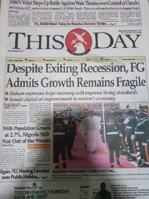 Newspaper review: Exit from recession nice if felt by ordinary