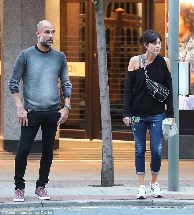 Manchester City boss Pep Guardiola treats wife to sumptuous dinner at his restaurant