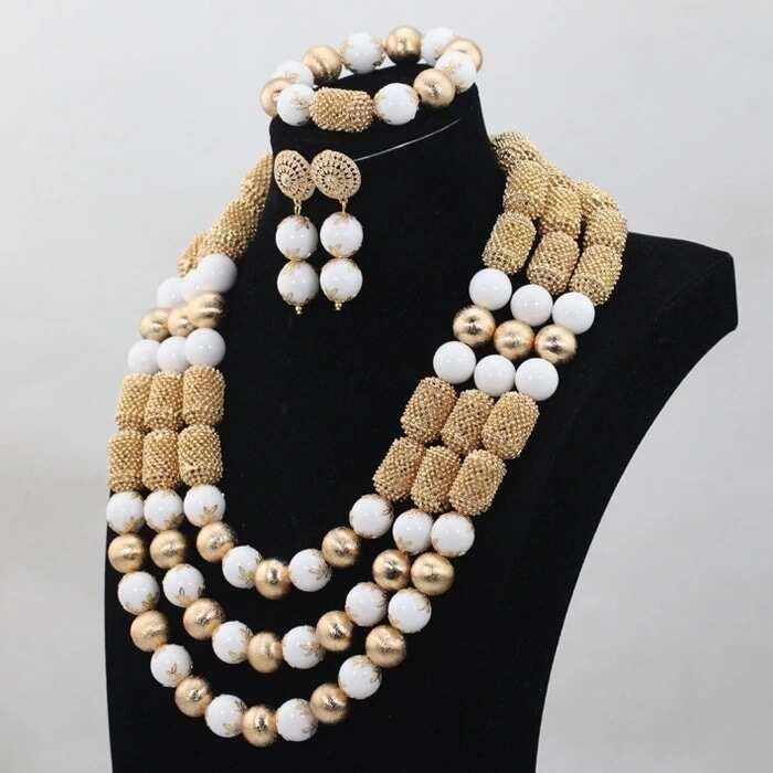 b067d994837b Latest beads in vogue this season ▷ Legit.ng
