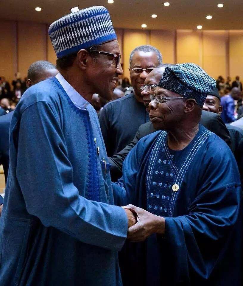 Kaso 80% na sanatocin arewa na na tare da Obasanjo – Sanatan Arewa