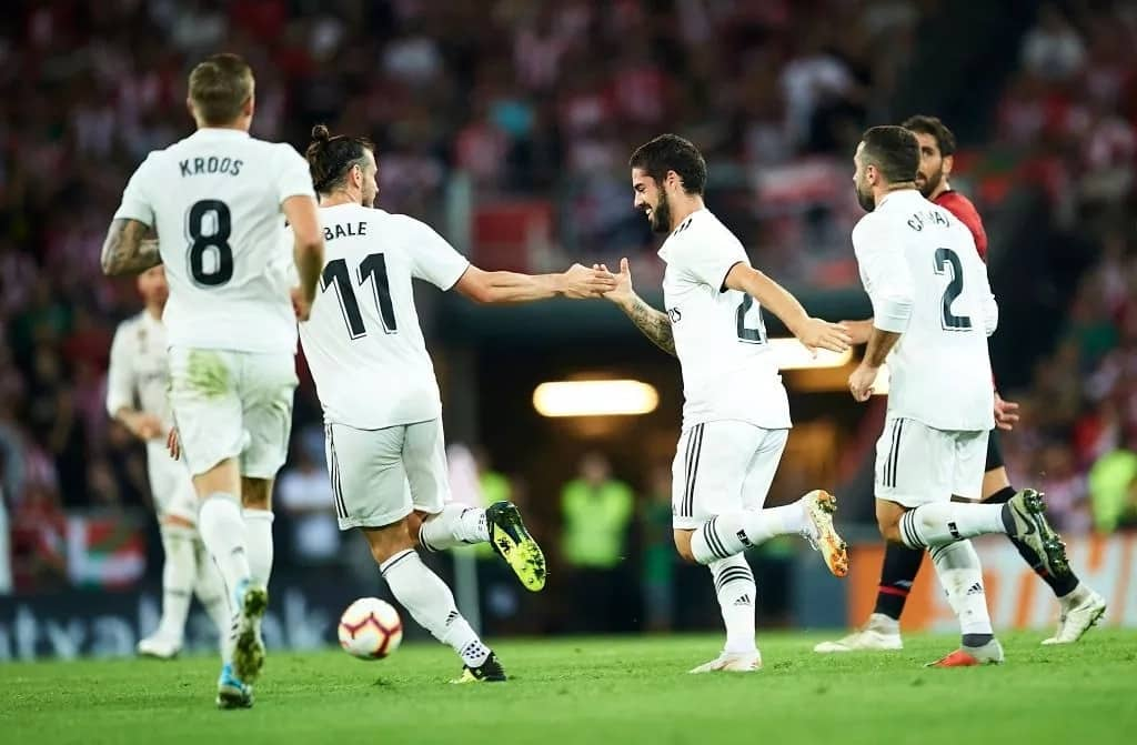 Isco comes off the bench to save Real Madrid from defeat