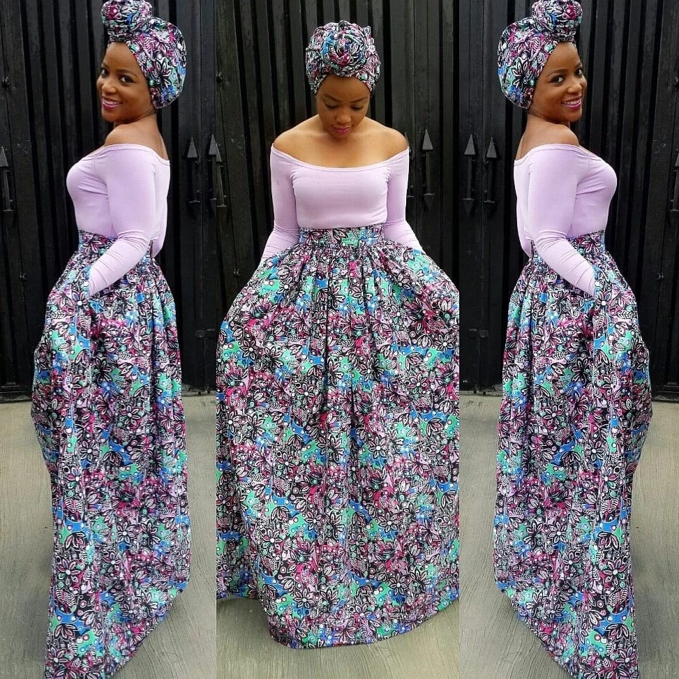 6aa36f43e24ce2 Latest Ankara skirt and blouse styles in 2018 ▷ Legit.ng