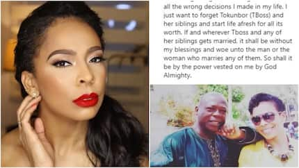 I just want to forget Tokunbor and her siblings - TBoss' father speaks