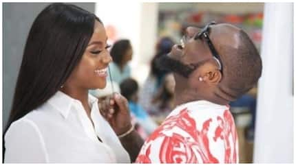 You cheated on her - Troll says after Davido says he is a fine man and Chioma is lucky to have him