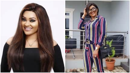 Mercy Aigbe slams fan who suggestively asked if she's bleaching her skin on social media