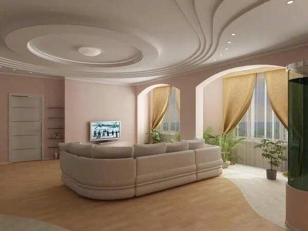 Best POP designs for living room in Nigeria - Minimalistic design