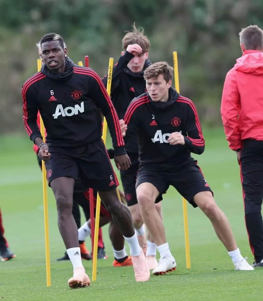 Mourinho and Pogba meet in training as Ince issues verdict on top star