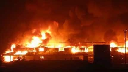 Tears, lamentation as fire engulfs popular market in Calabar on new year's day