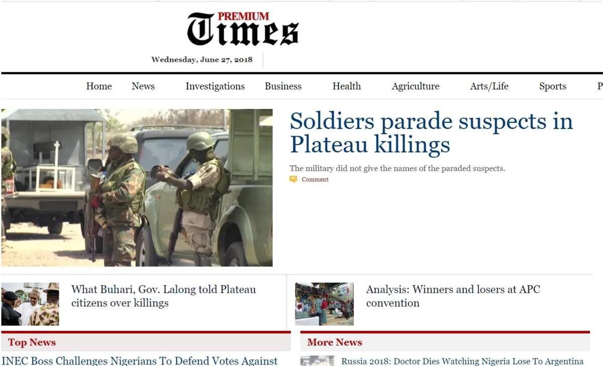 Top military websites