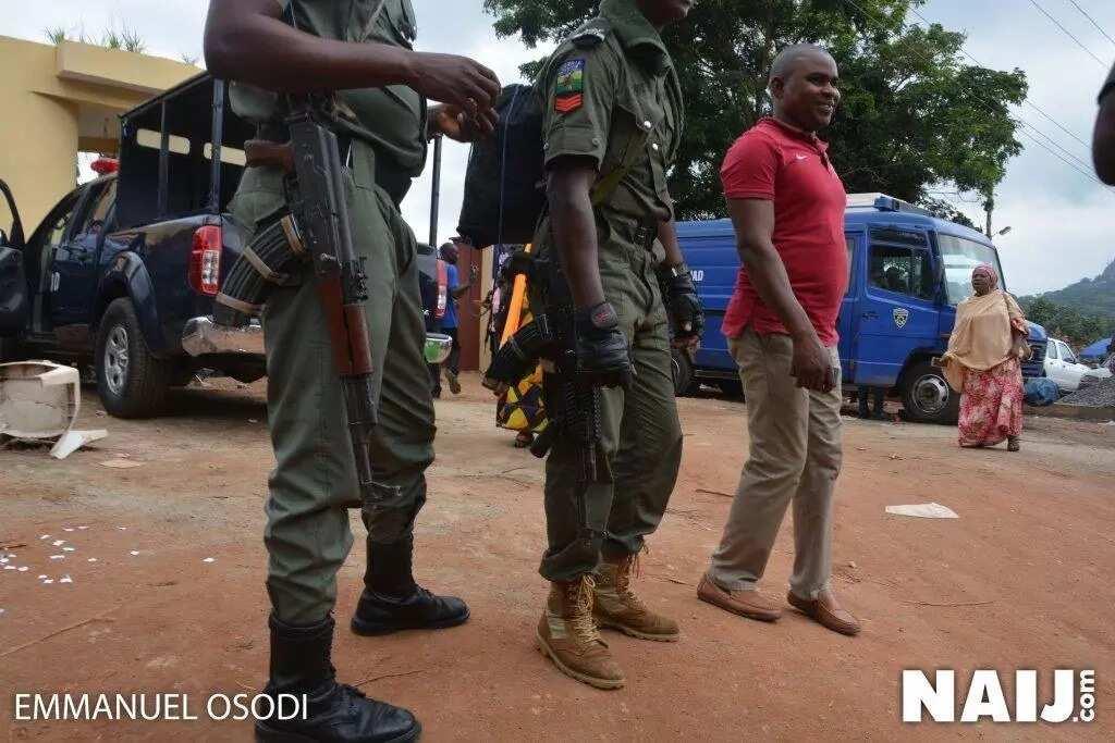Ekiti 2018: Watertight security in Ado-Ekiti as INEC expects election materials (photos, video)