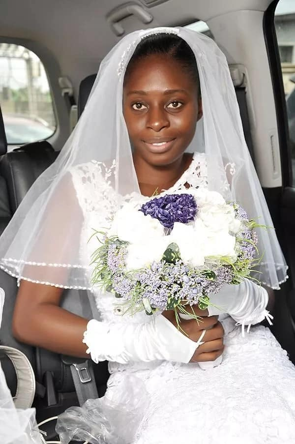 Bride who wore no makeup to her wedding speaks out