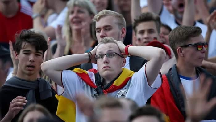 Germany players and fans in tears after 'biggest disgrace' in their history (photos)