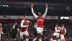 Danny Welbeck strike the difference as Arsenal defeat West Ham in Carabao quarter final clash (photo)